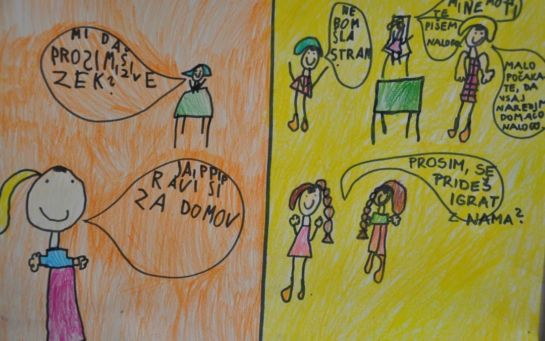 Komunikacija med učenci, učitelji in starši